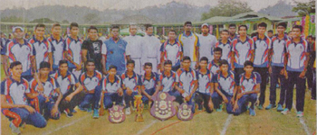 37th All Island Inter school Athletic Champions